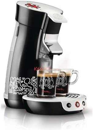 PHILIPS Cafetera Senseo Viva Café Keith Haring HD7826/61: Amazon ...