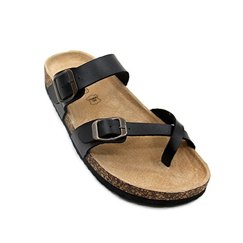 JOURNEI Unisex Adjustable Strap Flat (Adjustable Strap Sandals)