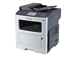 Lexmark Mx410de - Multifunction Printer - B/W - Laser - Legal (8.5 In X 14 In) (Original) - Legal (216 X 356 Mm) (Media) - Up to 40 Ppm (Copying) - Up to 45 Ppm.