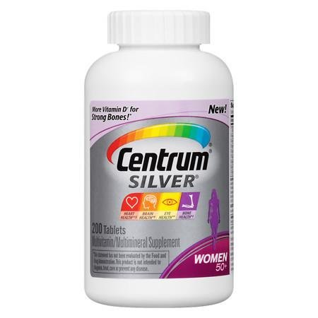 Centrum Silver Women 50+ Multivitamin, Tablets - 3PC