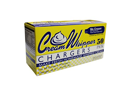 Ms Cream N2O 8g Cream Chargers 50 Count