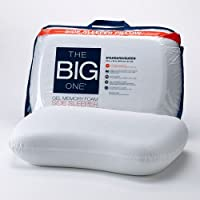 2-Pack The Big One Gel Memory Foam Side Sleeper Pillow