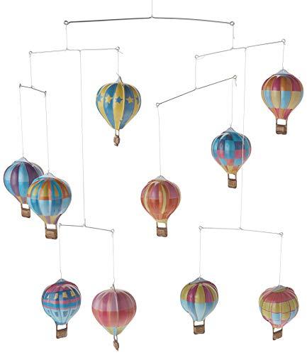 hot air balloon mobile - 1