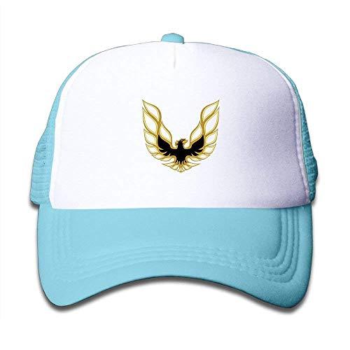 Firebird Type (Yutrepler Boys&Girls Trans Am Firebird Logo Cute Mesh Baseball Cap)