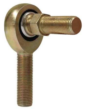 Male Stud Rod End, Nylon/PTFE, RH, 3/8-24