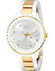 Jivago Womens JV2416 Sky Analog Display Swiss Quartz Two Tone Watch