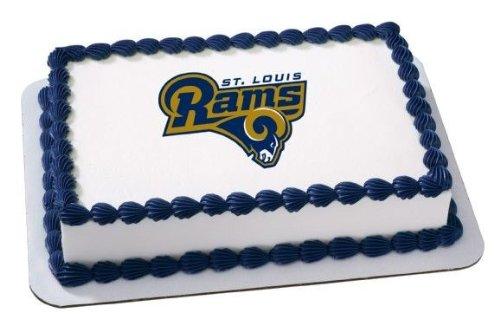 Strange Amazon Com 2 Round Nfl St Louis Rams Football Birthday Funny Birthday Cards Online Amentibdeldamsfinfo