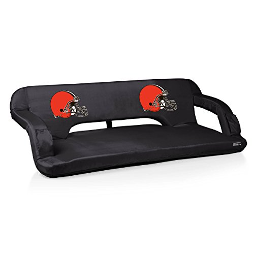NFL Cleveland Browns Digital Print Reflex Travel Couch, One Size, Black by PICNIC TIME