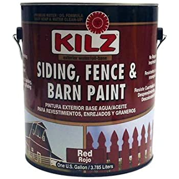 Valspar 3125 10 barn and fence latex paint 5 for Behr barn and fence paint