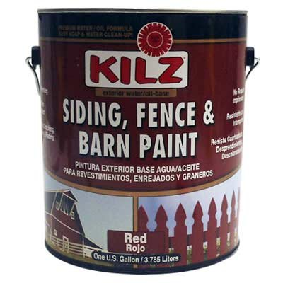 BEHR 1-gal. Red Exterior Barn and Fence Paint ()