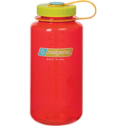 Nalgene WM 1 QT Pomegranate Bottle, 32 oz by Nalgene