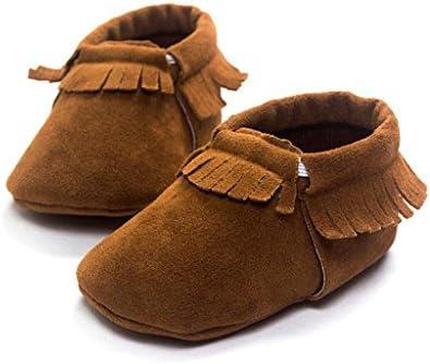 赤ちゃん 新生児 柔らかいソール モカシン 靴 歩行練習用 滑り止め シューズ 3サイズ
