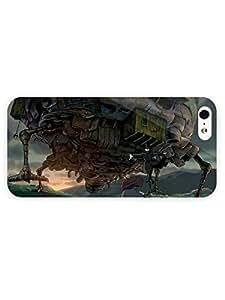 iPhone 5&5S Case - Anime - Howl Moving Castle16 3D Full Wrap