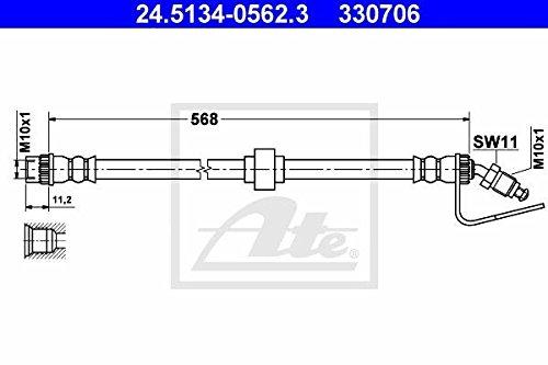 ATE 24513405623 Flexible de frein 24.5134-0562.3