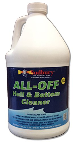 Sudbury All-Off Hull + Bottom Cleaner Gel, 128 oz by Sudbury