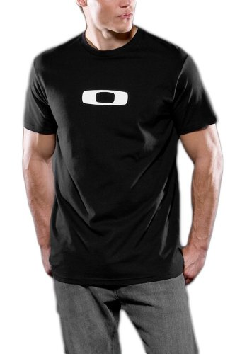 Oakley Square O Mens T-Shirt (X-Large) - Black