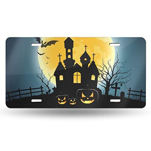 Poream Happy Halloween Party House On Moon Vector