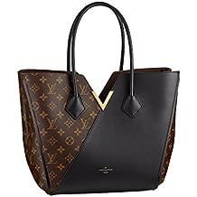 Louis Vuitton Monogram Canvas Kimono PM Noir Shoulder Handbag Article: M41855 Made in France