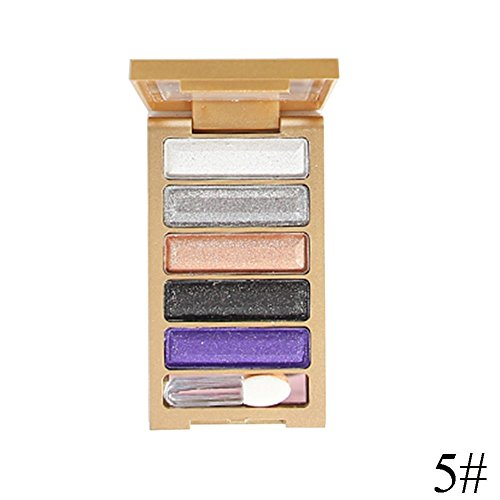 Gracefulvara 1 Pcs 5Colors MakeUp Shimmer Light Eye Contour