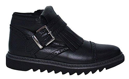HIP | Mädchen Boots | mit Haferlasche - schwarz Schwarz