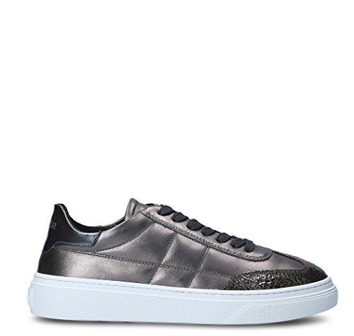 Grey Sneakers Leather Women's Hogan HXW3400J280HR93632 xPOIEEwC