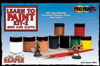 Paint Learn to Paint Kit 2 Flesh & Cloth RPR 08902