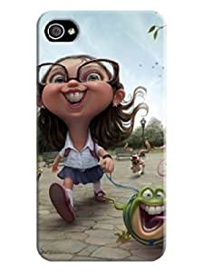 3D Art Background image iphone 4/4s case cover for #1