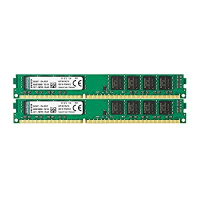 Kingston Technology 16GB Non-ECC CL11 DIMM 1600MHz DDR3 RAM (KVR16N11K2/16) - Kit of 2