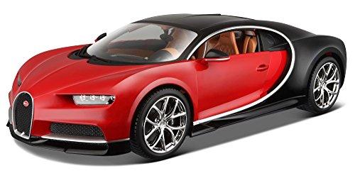 burago-1-18-scale-18-11040r-bugatti-chiron-red-black