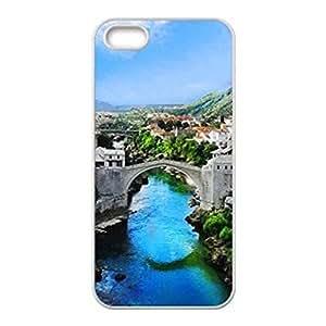 Hard Plastic iPhone 6 Plus Case, Fate Inn-The River Through The Town-iPhone 6 Plus case