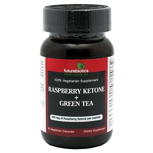 Cétone framboise + thé vert par Futurebiotics 60 Capsules