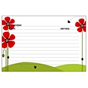 Meadowsweet Kitchens Recipe Card Set - Ladybug