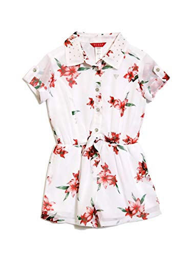 - GUESS Factory Kids Girl's Cassidy Floral Romper (2-6)