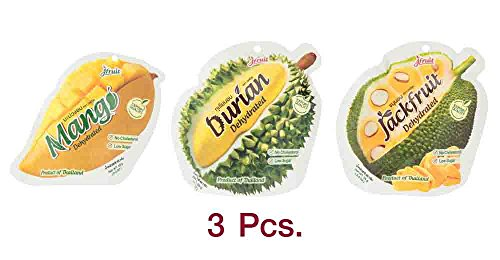 J Fruit Oob X3 Pcs. (Dehydrated Mango, Durian, Jackfruit) 65g (Womens Poisonous Costume)