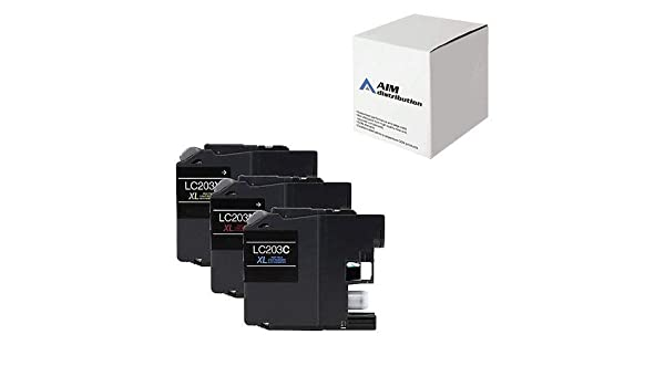 AIM Compatible Replacement for Brother LC-223XL8BK4CMY Inkjet Combo Pack Generic 8-BK//4-C//M//Y