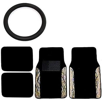 Amazon Com Unique Imports Camo Floor Mats Amp Steering Wheel Cover Set
