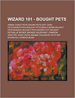 Wizard 101 Bought Pets Arena Ticket Pets Crown Pets Gift Card