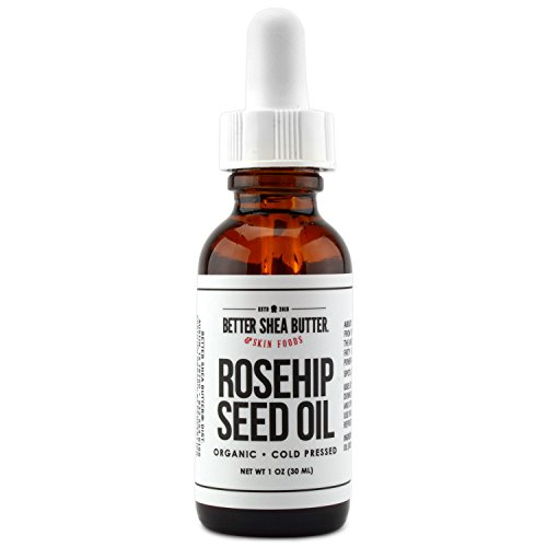 UPC 820103328197, USDA Certified Organic Rosehip Seed Oil- Premium Quality, Authentic and Fresh - Fades Dark Spots, Evens Out Wrinkles - Non-Greasy and Fast-Absorbing Oil - 1 fl oz