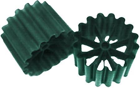 AquaForte Filtermedium Bioringe Sack 500 St/ück = 0.05m/³