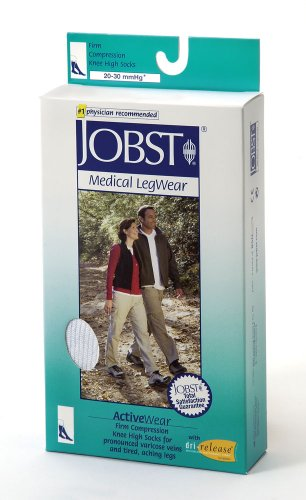 Jobst - ActiveWear - Firm Support Unisex Athletic Knee Highs - 20 30 mmHg