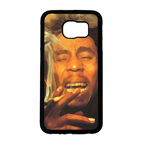 Samsung Galaxy S6 Cover Shell Personalized Style Reggae Music Bob Marley Wailing Wailers Phone Case Cover Originator Singer Personalized