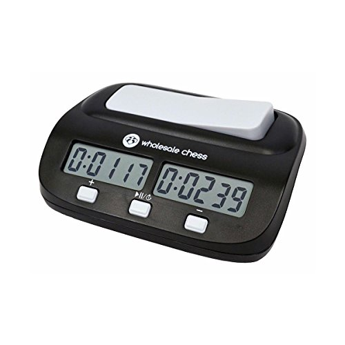 Digital Game Timer (Wholesale Chess Basic Digital Chess Clock & Game Timer with Bonus and Delay)