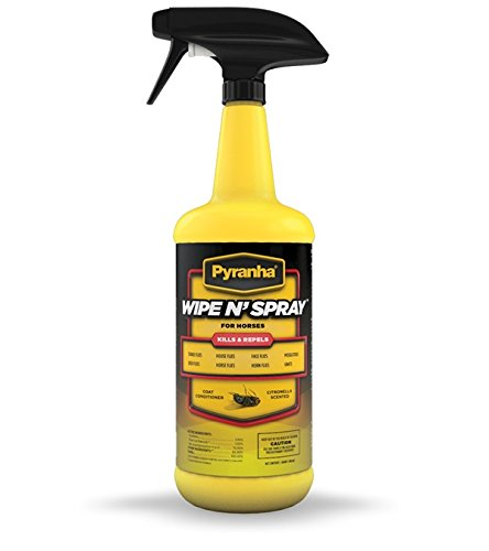 Fly Sweat Endure Resistant Spray (Pyranha Wipe N Spray 32oz)