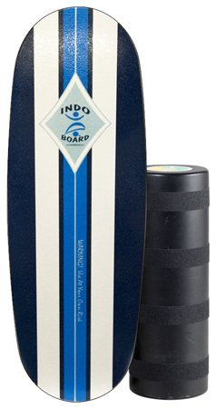 INDO BOARD Pro Balance Board Riders over 6 Feet Tall Surfers That Want to Learn to Cross Step - Perfect Surf, Snowboard Wakesurfing Training - Surf Classic Design