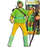 Offical Super Merry Men Robin Hood Mego Style 2005 Re-Issue Action Figure