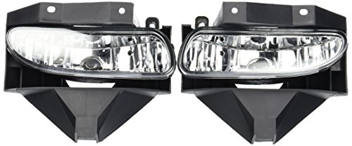 99-04 Ford Mustang OEM Fog Lights Clear Lens (04 Fog Light Kit)