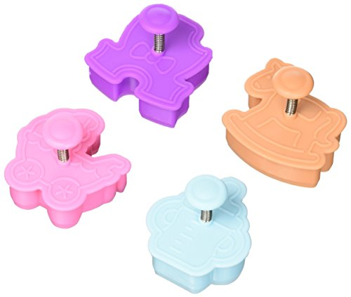 R & M Baby Stamper Cutters 4 Pcs Set,  New Born Baby, Item # 0497