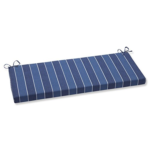 Pillow Perfect Outdoor Wickenburg Bench Cushion, Indigo