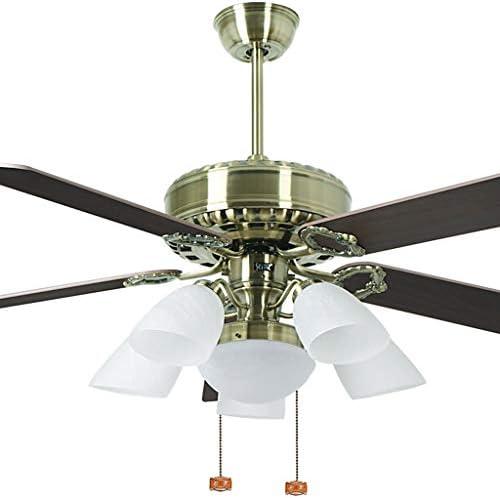 Luz del ventilador de techo 142 cm Hoja de Madera Ventilador de ...