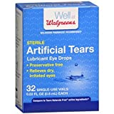 Walgreens Artificial Tears, .01 oz